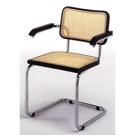 C CHAIR WITH ARMRESTS