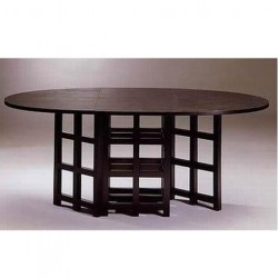 OVALE TABLE BASSET-LOWKE